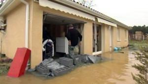landes inondations intempéries