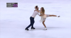 Le 13 heures du 23 novembre 2014 : Le couple Papadakis-Cozeron : les nouvelles �iles du patinage fran�s ? - 703.212