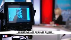 Louis Chedid présente son recueil de nouvelles et confie son amour de l'écriture