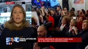 Premières estimations en Grèce : Syriza largement en tête
