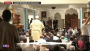 Saint-Étienne-de-Rouvray : le curé de la ville donne un discours à la mosquée