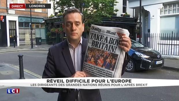 """""""Take a bow britain"""", la victoire du Brexit divise la presse britannique et le pays tout entier"""