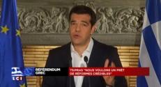 "Tsipras : ""La Grèce viendra à la table des négociations"""