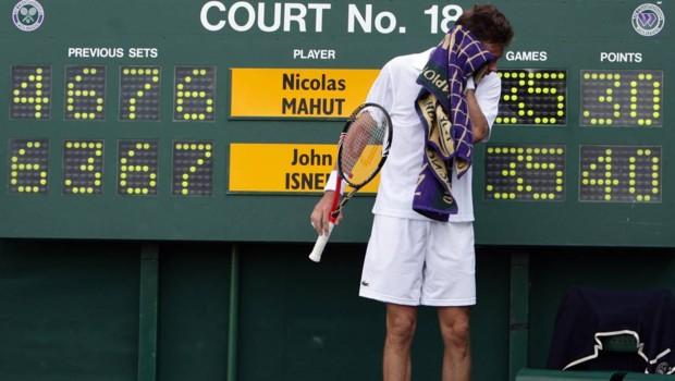 Wimbledon tennis Nicolas Mahut