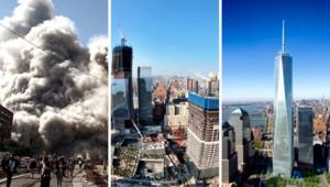 World Trade Center : septembre 2001, septembre 2011 et projet final