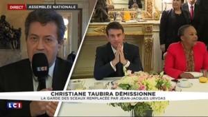 """Démission de Taubira : """"Une femme avec une chaleur guyanaise mais à contre-sens"""""""