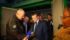 Le 20 heures du 23 janvier 2015 : Emmanuel Macron en visite à Gad - 315.74700000000007