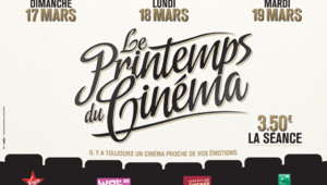 Affiche 2013 du Printemps du Cinéma