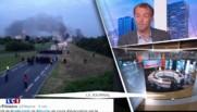 Déblocage du dépôt de carburants de Douchy : les images de l'intervention des CRS