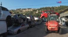 Déluge Alpes-Maritimes : des véhicules réparables ou... des ferrailles
