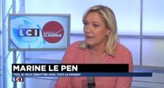 """Marine Le Pen : """"Nicolas Sarkozy veut continuer à enfumer les Français"""""""