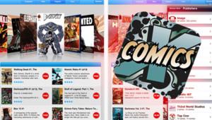 Comics Installation gratuite puis paiement à l'acte Androïd et iPad