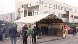 H&M textile grève entrepôt Bourget
