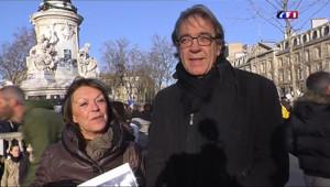 Le 13 heures du 11 janvier 2015 : Charlie Hebdo : pourquoi ils viennent à la marche républicaine ? - 148.51043638992311