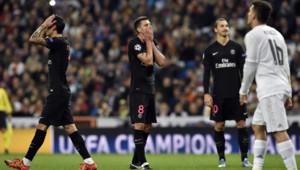 Les Parisiens ont enregistré leur première défaite de la saison sur la pelouse du Real Madrid, le 3 novembre 2015, en Ligue des champions.