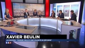 """Loi Macron : """"Manuel Valls a une volonté de réforme"""""""