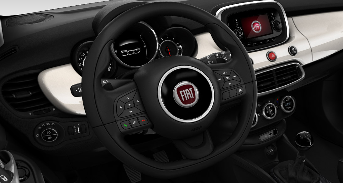 Photos automoto le fiat 500x opening edition en images for Fiat 500 x interieur