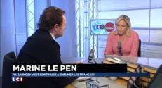 """Hollande aurait-il dû annuler sa tournée africaine? """"Je ne le crois pas"""" répond Marine Le Pen"""