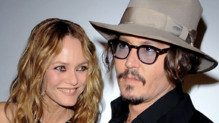 Johnny Depp et Vanessa Paradis.