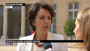 """Marisol Touraine a indiqué vouloir mettre en place un """"dispositif"""" limitant la prescription des pilules 3e génération en France."""
