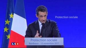 """Sarkozy : """"une obligation de travail pour les bénéficiaires du RSA"""""""