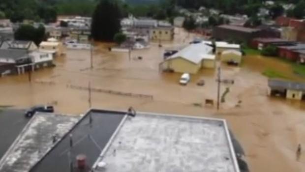 Virginie inondations