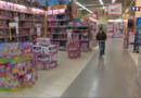 Un rayon jouets dans un supermarché (archives).
