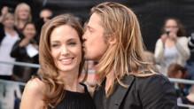 Angelina Jolie et Brad Pitt lors de l'avant-première de World War Z à Londres en janvier 2013