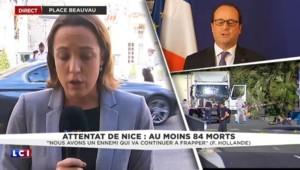 Attentat de Nice : François Hollande et Bernard Cazeneuve rentrés à Paris