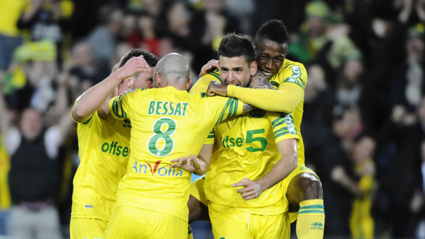 Le FC Nantes bat Sedan et retrouve la L1