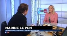 """Marine Le Pen : """"Le peuple grec a le droit de se décider souverainement'"""