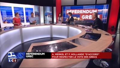 """""""Non"""" au référendum grec : Les Républicains, PS, FN, EELV... Les réactions politiques"""