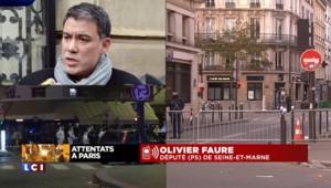 """Olivier Faure : """"Ne pas se laisser abattre par la fatalité et la peur"""""""