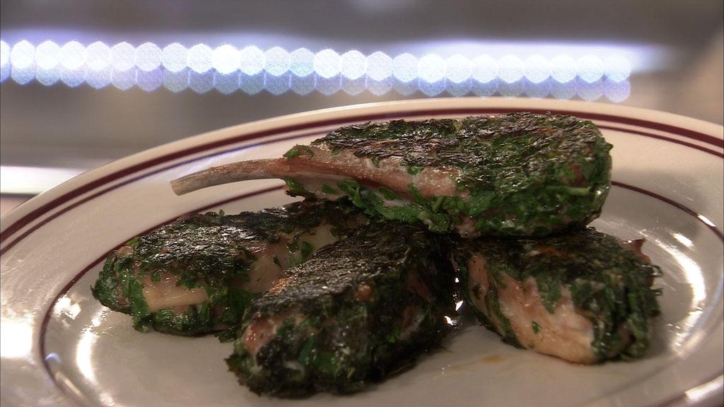 C tes d 39 agneau pan e aux herbes petits plats en - Recette cuisine tf1 petit plat en equilibre ...