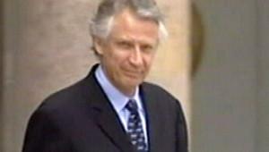 Villepin Dominique sortie Elysée Premier ministre