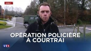 Belgique : opération policière à Courtrai