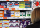 Des médicaments dans une pharmacie - Image d'illustration