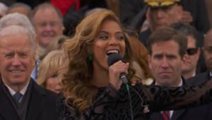Investiture d'Obama : Beyoncé chante l'hymne national