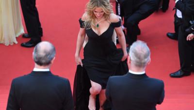 Julia Roberts Cannes montée des marches