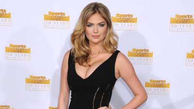 Kate Upton en janvier 2014 pour les 50 ans de Sports Illustrated à Los Angeles