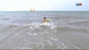 Le 20 heures du 2 août 2013 : Noyade : la tourn�des plages avec la F�ration fran�se de sauvetage - 1209.5697191772463