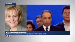 """Morano : """"les militants ne se sont pas laissés manipuler"""""""