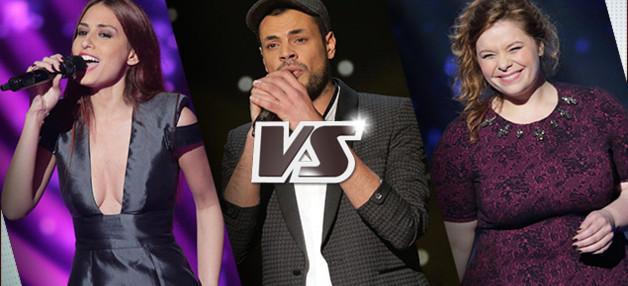 Qui a été sélectionné pour les grands shows en direct ?