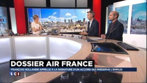 """ANALYSE. Le gouvernement a """"une gestion amateur du dossier Air France"""""""