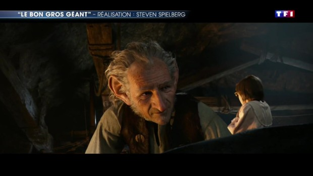"""Cinéma : Spielberg de retour avec """"Le Bon Gros Géant"""""""
