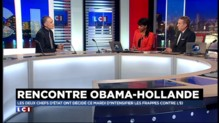 "Coalition internationale : Hollande rencontre Obama, ""un spectacle de solidarité et d'amitié"""