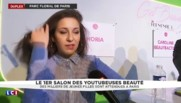 "Horia, star du salon des ""youtubeuses"" beauté"