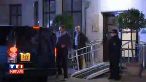 Le prince William quitte l'hôpital Edouard VII en pleine nuit