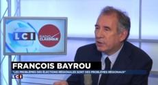 """Mosquées salafistes : """"Que le gouvernement fasse preuve de rigueur"""", affirme Bayrou"""