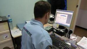 TF1/LCI : Consultation de fichiers judiciaires dans une gendarmerie